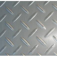 Лист нержавеющий рифленый 304 1мм 1х2м