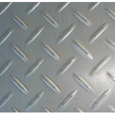 Лист нержавеющий рифленый 304 4мм 1,25х2,5м
