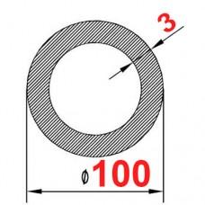 Труба алюминиевая 100х3 б.п. круглая