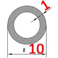 Труба алюминиевая 10х1 AS круглая