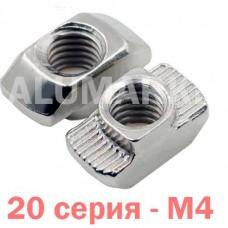 Т-гайка М4 20 серия