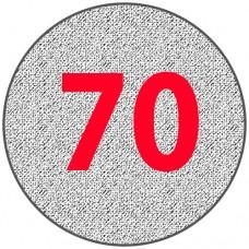 Алюминиевый круг 70 мм
