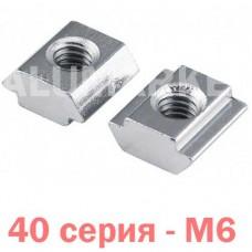 Пазовий сухар М6 40 серія