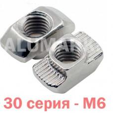 Т-гайка М6 30 серія