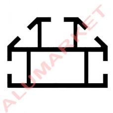Алюминиевый профиль 2633 для торговых витрин