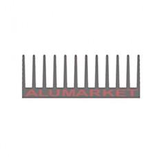Радиатор алюминиевый охлаждения 122х38 ОН-082