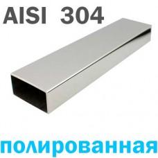 Труба нержавеющая прямоугольная 40х20х1.5