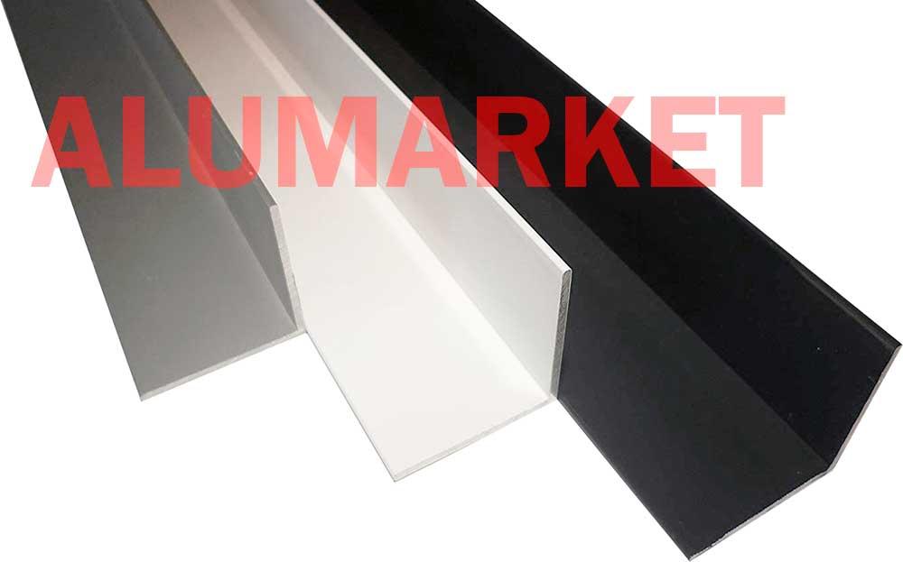 окрашенный алюминиевый уголок